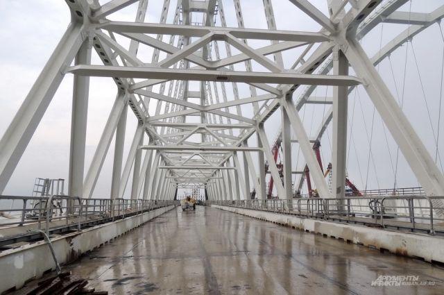 Депутат ГД от Севастополя заявил, что Крымский мост под надежной защитой