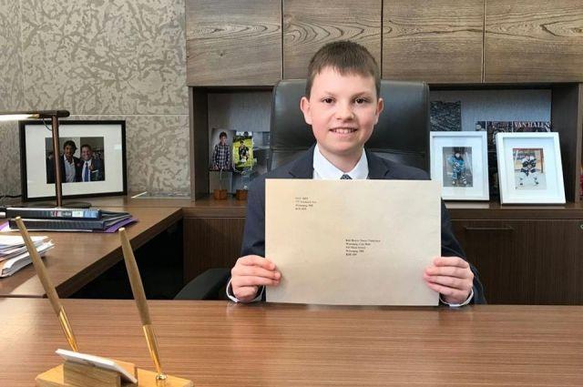 Детским мэром Виннипега в Канаде стал 12-летний украинец