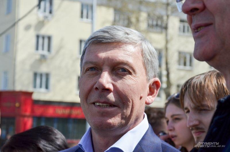 Заместитель главы администрации Екатеринбурга по вопросам капитального строительства Алексей Белышев.