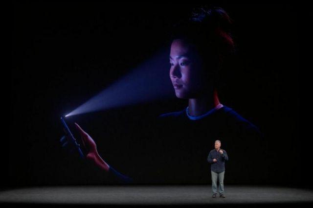 В iPhone датчик Face ID сможет определять лица по рисунку вен
