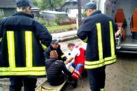 В Закарпатской области пассажир выпал из движущегося поезда