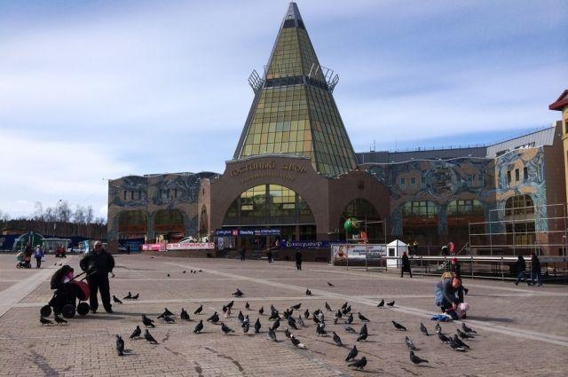 Центральная площадь Ханты-Мансийска