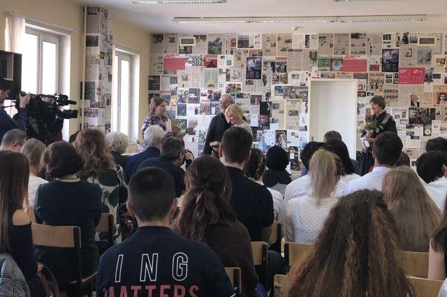 На торжественное откытие музея были приглашены журналисты городских и окружных изданий