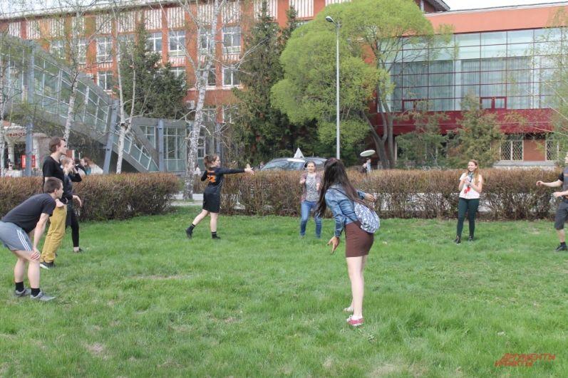 Площадка с активными играми