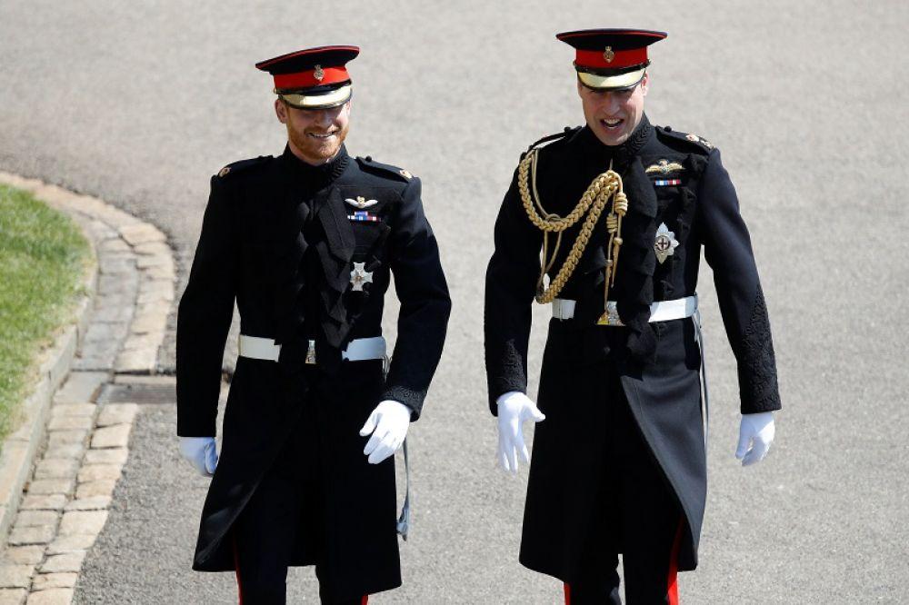 Принц Гарри и принц Уильям.