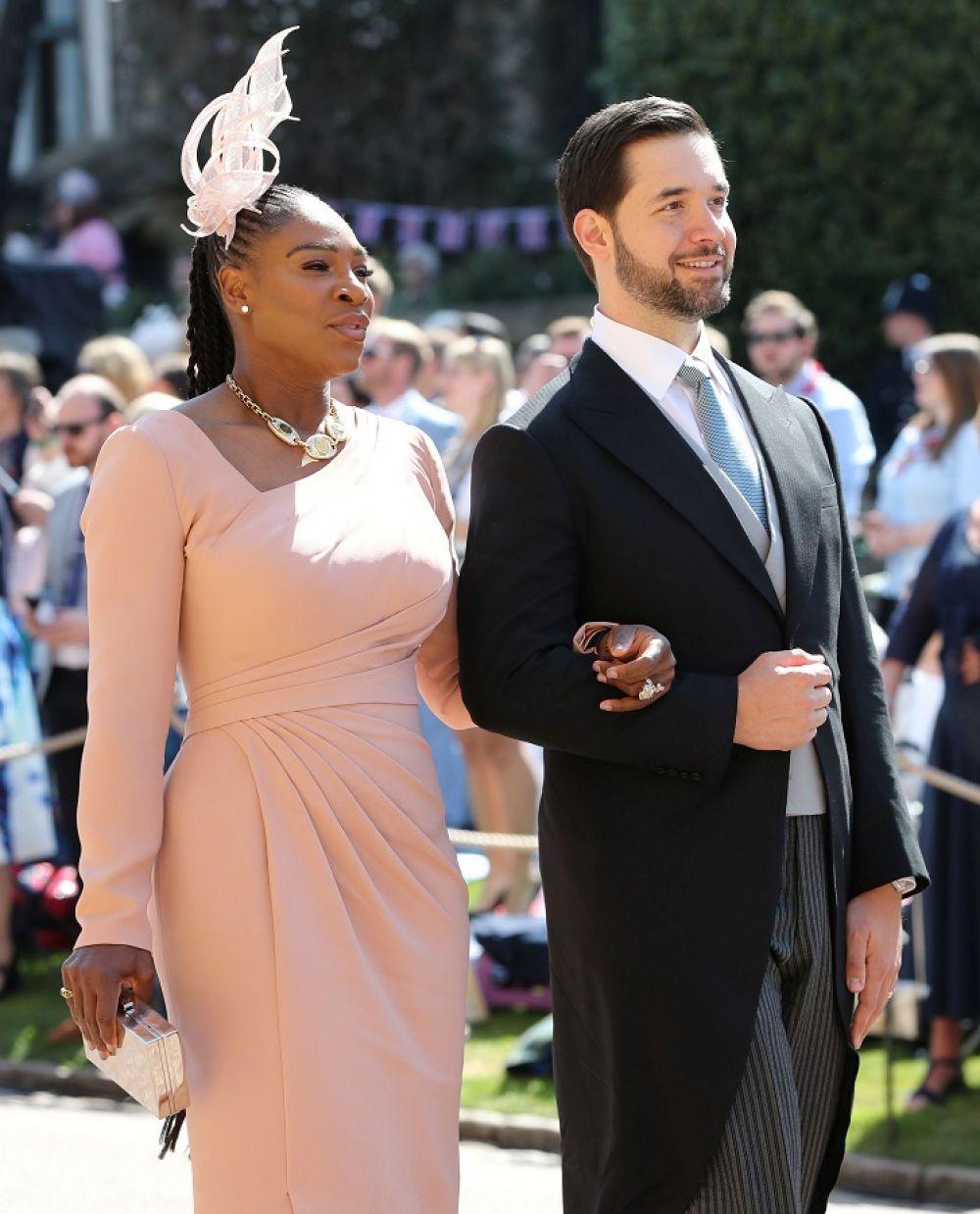 Серена Уильямс и её муж Алексис Оганян.