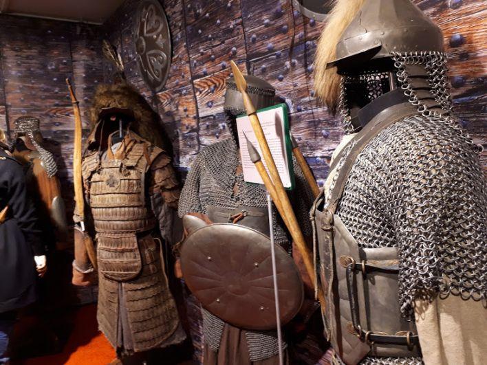 В арсенале древних воинов. Выставка