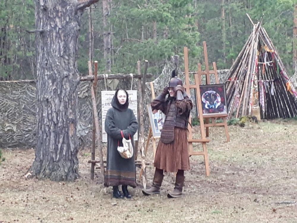 Культура и быт народов Севера. На площадке