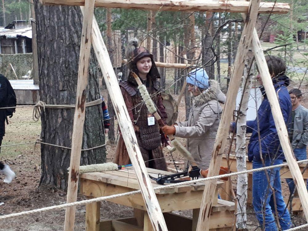 Стрельбище сибирского средневековья. Интерактивная площадка