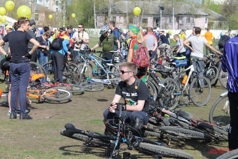 Перед длительным велопробегом нужно набраться сил