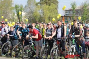 В велопробеге приняли участие около трёх тысяч человек