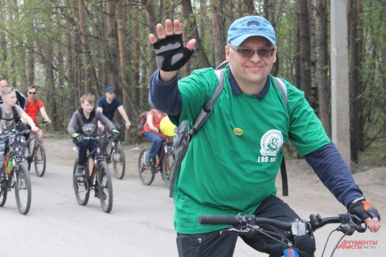 Сотрудники больниц тоже вышли на велопробег