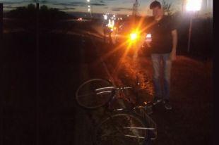 Авария произошла на трассе поздно вечером.