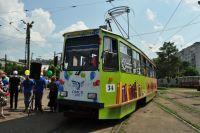 В Омске запустят тематический трамвай по истории развития трамвайного движения.