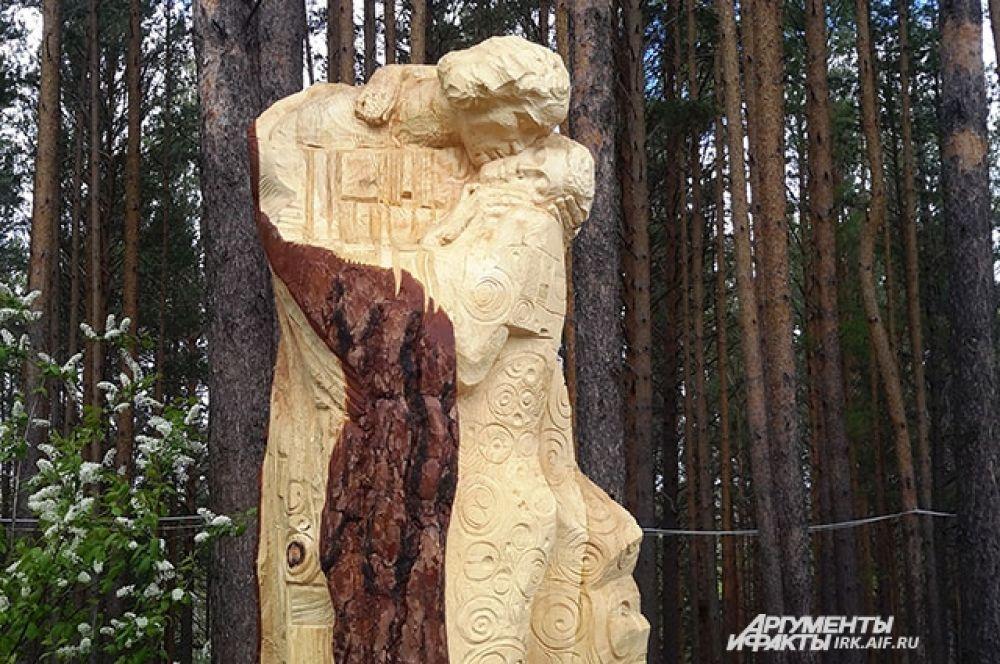 Почетное третье место завоевали скульпторы из Санкт-Петербурга.