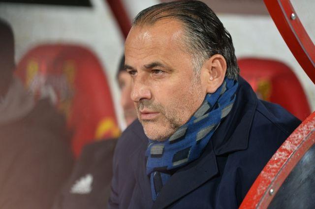 Божович покинул пост основного тренера тульского «Арсенала»