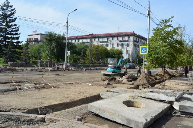 Успеют ли завершить ремонт ко Дню города в августе?