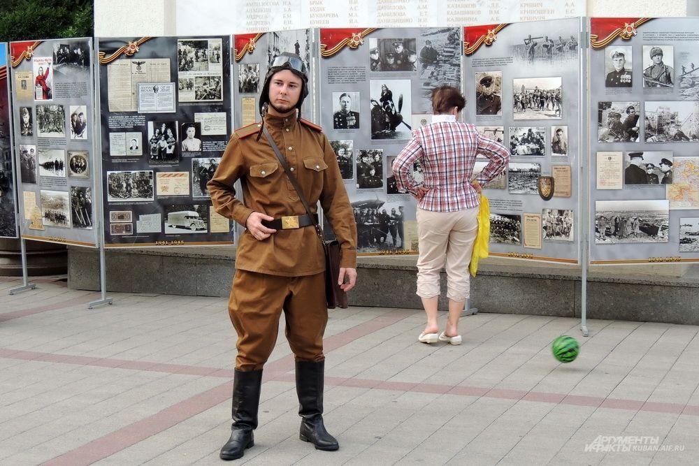 Одной из главных тем этой «Ночи музеев» стало 75-летию освобождения Краснодарского края от немецко-фашистских захватчиков.