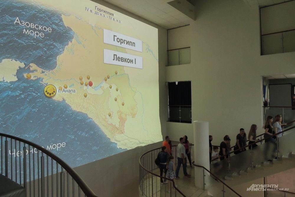 Карта Горгиппии.