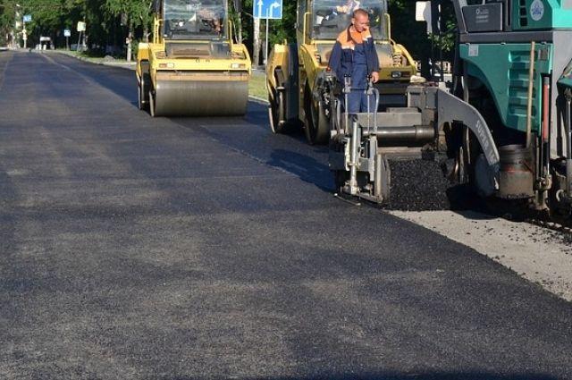В Омске начался ремонт магистралей.