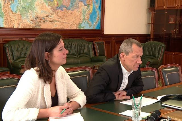 Кемерово с рабочим визитом посетили представители «Сколково».
