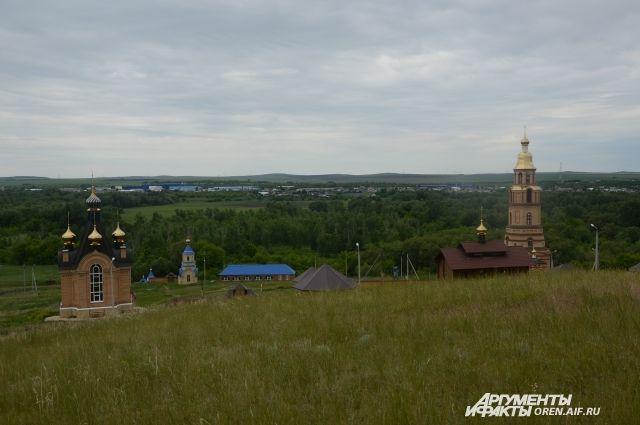 В Оренбургской области открывается женский монастырь.