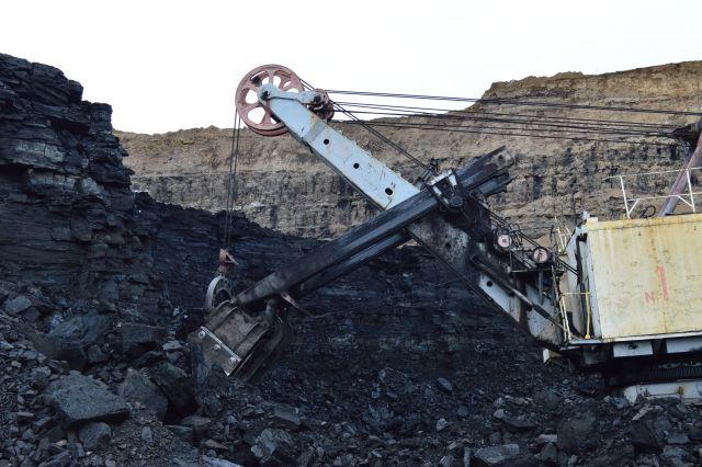На угольном разрезе в Кузбассе приостановлена работа.