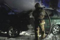 Машины горели в ночь на 21 мая