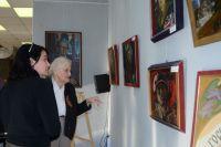 В Тюмени открылась выставка картин Остапа Шруба