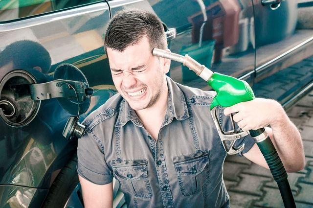 В Тюмени выросли цены на бензин