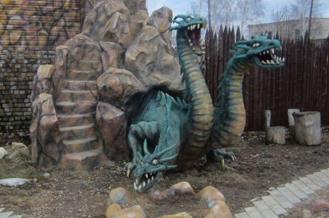 Музей гадов в Кимрском районе Тверской области.