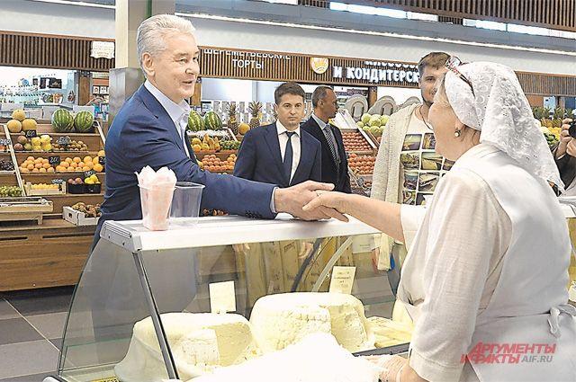 Свежую фермерскую продукцию скоро можно будет купить не только на рынках, но и в торговых центрах.