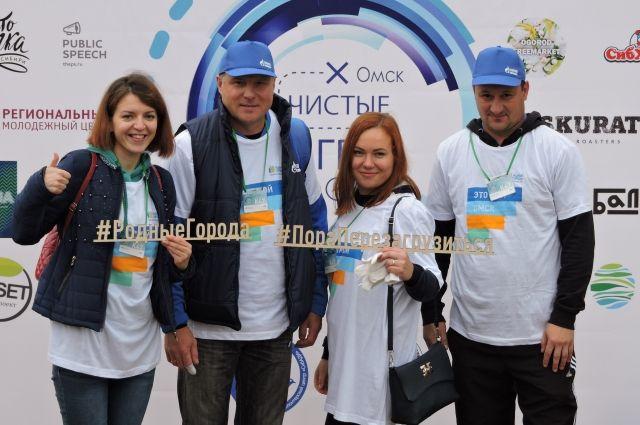 Омский нефтезавод поддержал экологический субботник