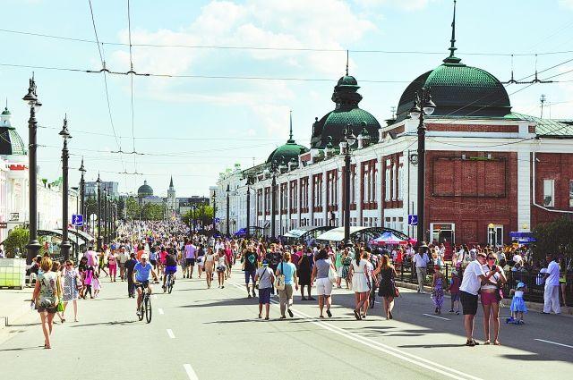 В Омске начнет работу открытое городское пространство