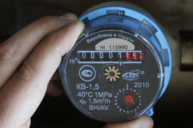 Киевляне смогут передать данные счетчиков горячей воды онлайн