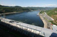 Красноярская ГЭС.