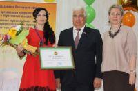 Победительнице вручили сертификат на 100 тыс. рублей.