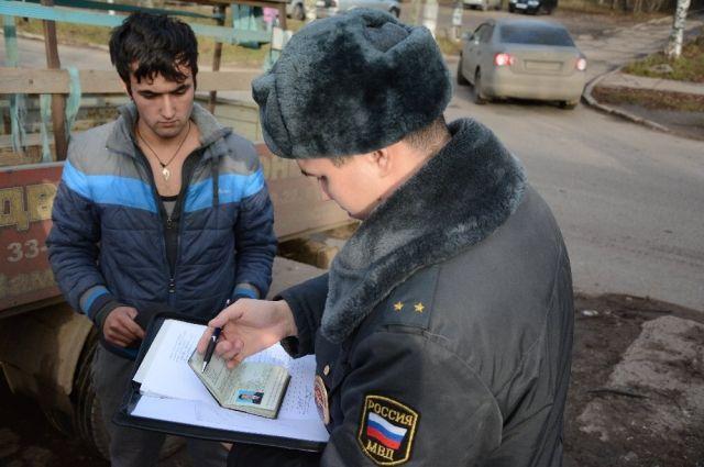 Мигрантам делали фиктивную регистрацию.