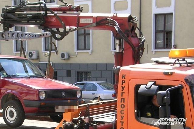 Калининградец украл машину с помощью эвакуатора и сдал ее на металлолом.