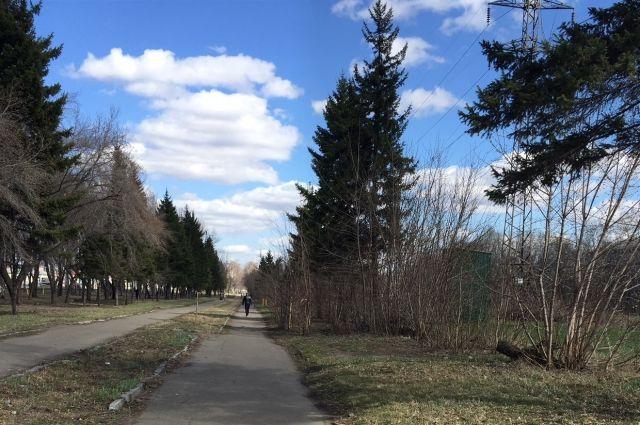 Парк Победы в Барнауле