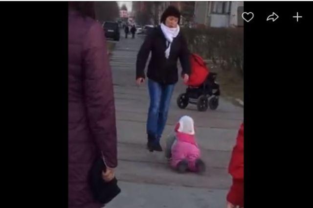 Кадр из видео ВКонтакте