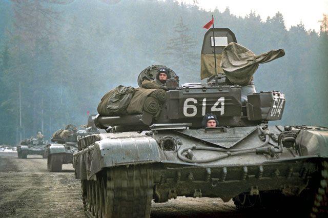 Вывод советских войск из Чехословакии.
