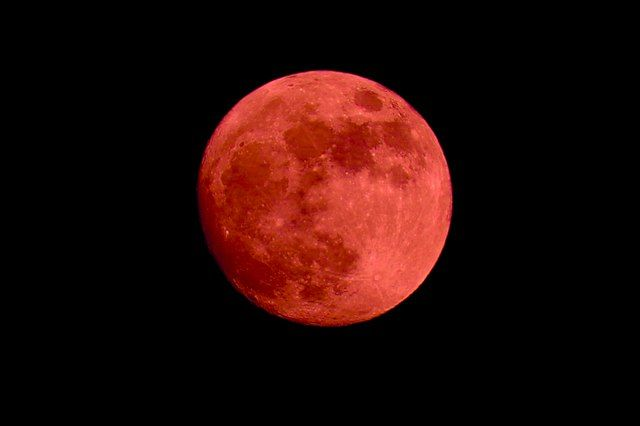 Украинцы смогут увидеть «рекордное» лунное затмение