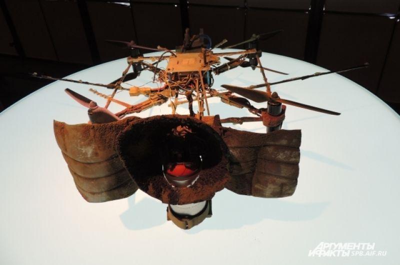 Художники показали, что современное искусство и технологии могут вести диалог.