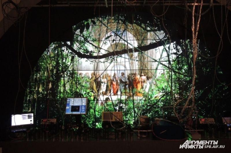 Художники предлагают совершить путешествие в технологические джунгли.