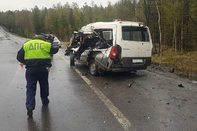 Автомобиль погибшего мужчины.