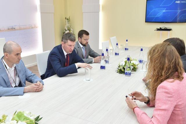 На встрече стороны обсудили подготовку IT-кадров в России и Пермском крае.