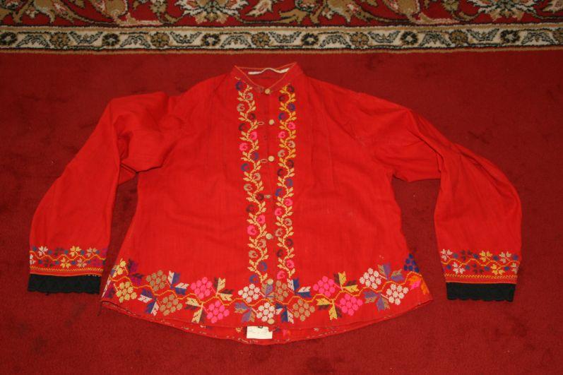 А вот и оригинал рубашки, хранящийся в Пестречинском краеведческом музее.