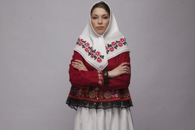 В Татарстане восстановили русский традиционный костюм, который носили крестьянки Казанской губернии.