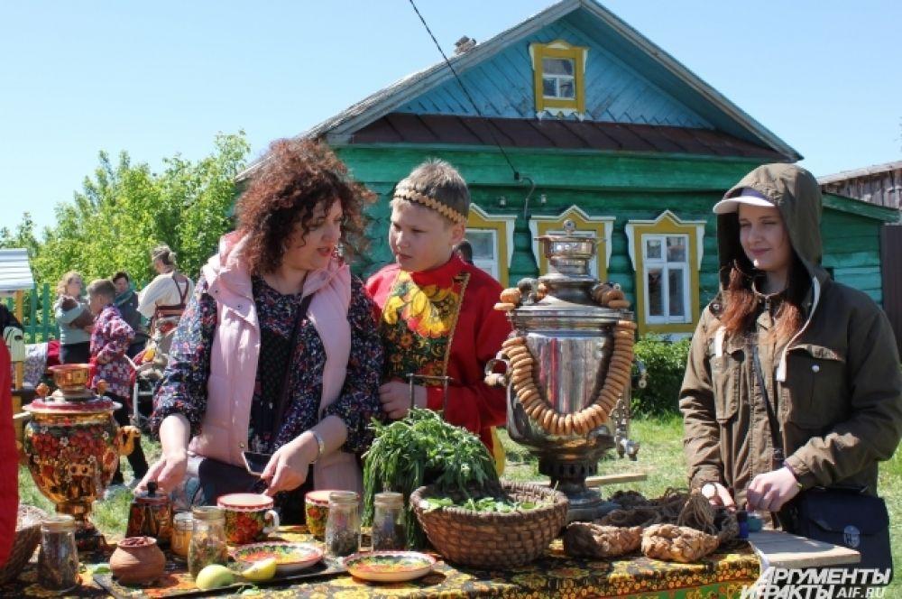 Участники квеста узнали о традициях русского чаепития.